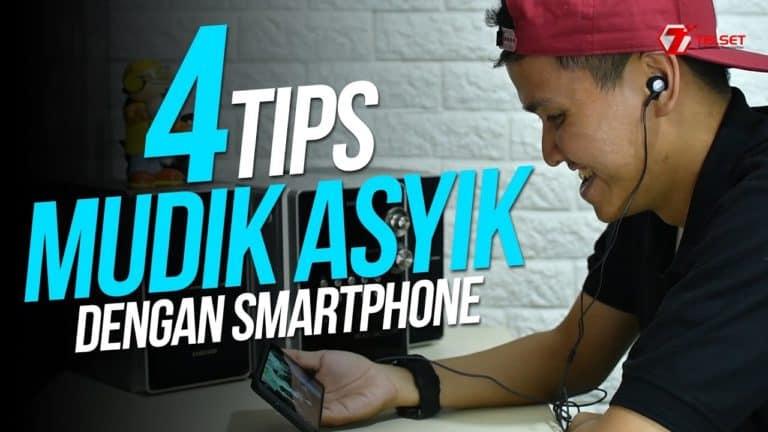 4 Tips Mudik Asyik dengan Smartphone