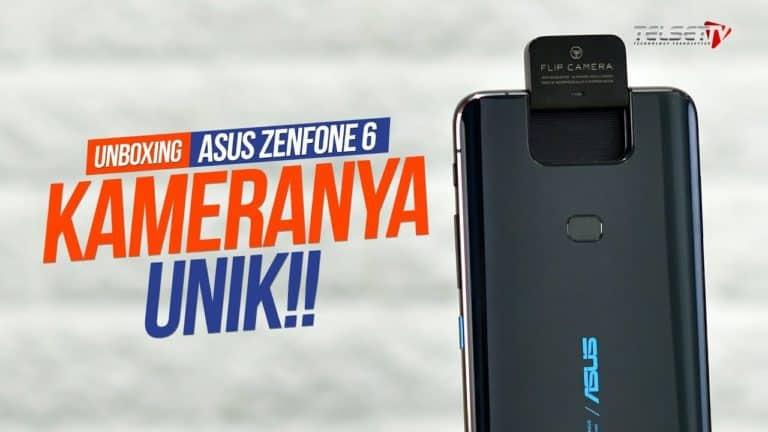 ASUS Zenfone 6 Unboxing: Kameranya Unik!
