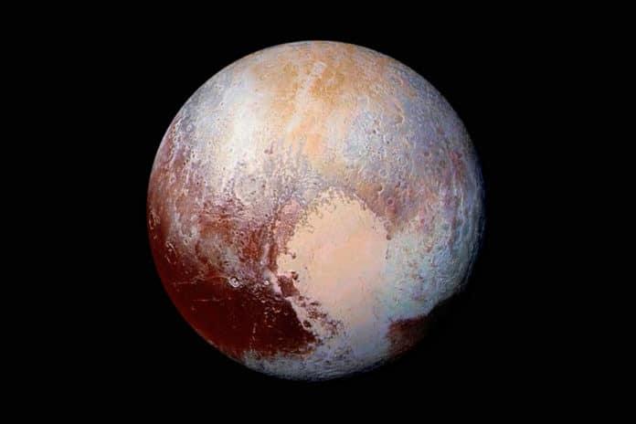 Angin Nitrogen Planet Pluto