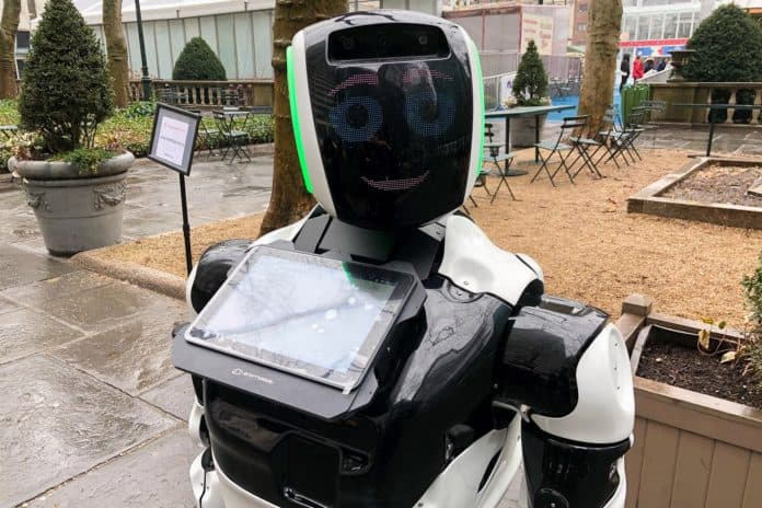 Robot deteksi Virus Corona