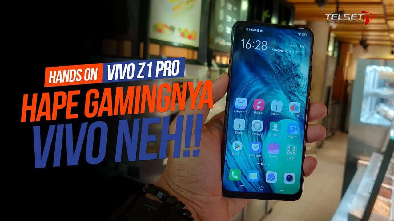 vivo Z1 Pro Hands-on, Hape Gamingnya vivo nih!