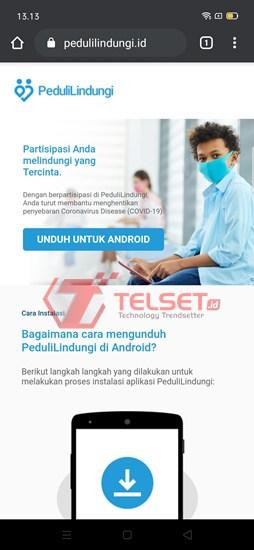 Aplikasi Peduli Lindungi