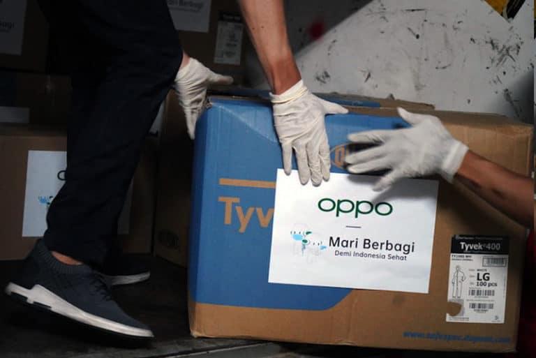 Lawan Covid-19, Oppo Salurkan Bantuan APD untuk Petugas Medis