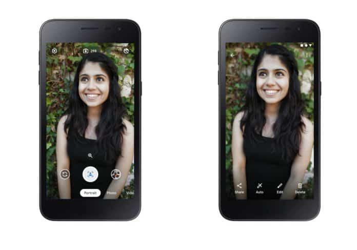 Android Go Camera Go