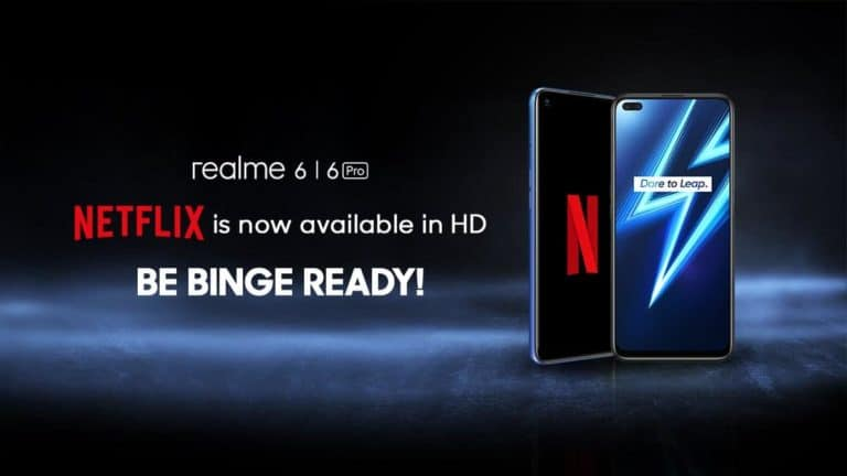 Update OS Realme 6 dan 6 Pro, Bisa Streaming Netflix HD