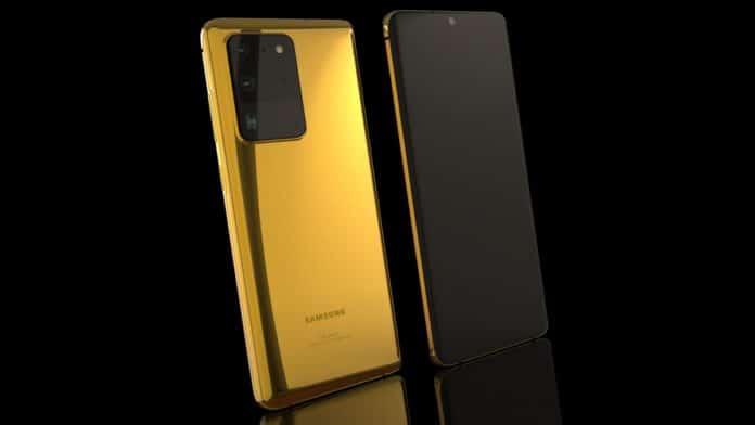 Galaxy S20 Emas, Gold versi