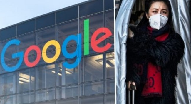 Situs Google Corona