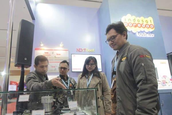 Indosat Pamerkan Solusi IoT Fleet Management, Namanya NEXTfleet