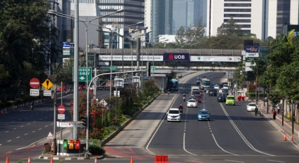 Kominfo: Jalanan Jakarta Disemprot Disinfektan Bikin Iritasi, Hoaks!