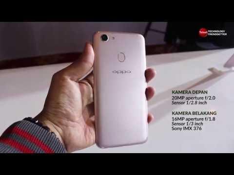 Oppo F5 Resmi Melenggang di Indonesia