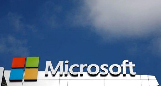 Peta Corona Microsoft