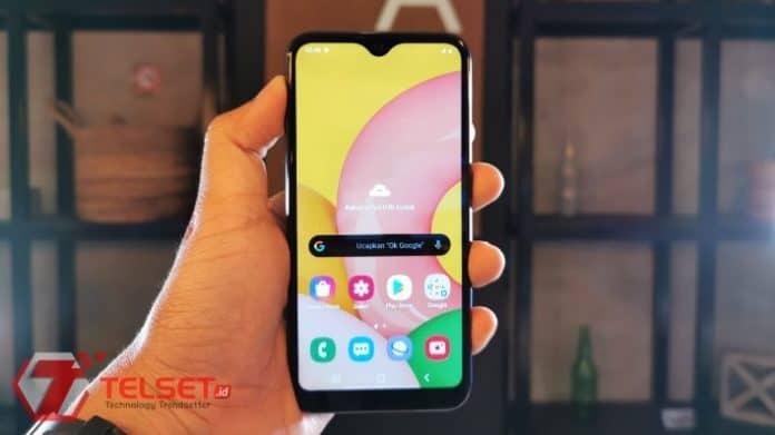 Samsung Galaxy A01 Indonesia