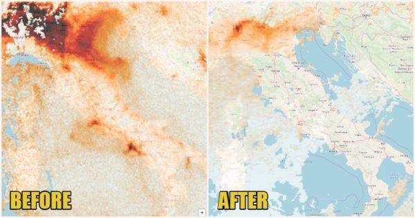 Polusi udara Italia