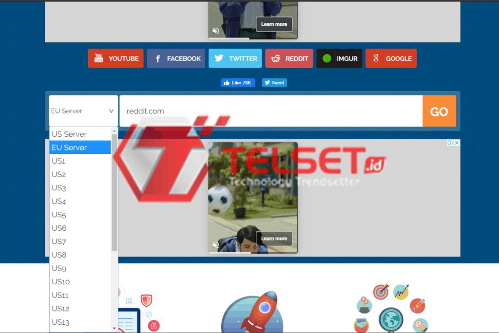 buka situs yang diblokir
