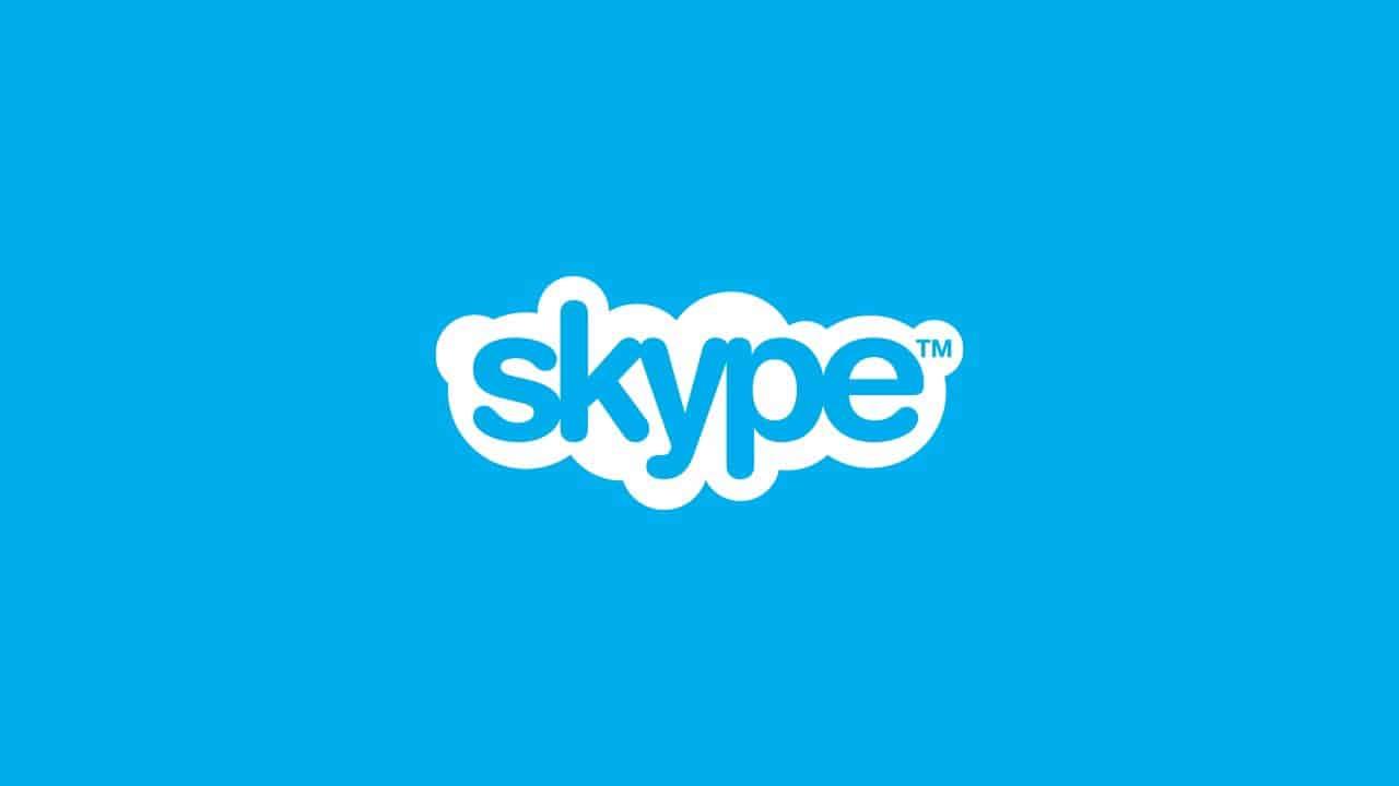cara ganti background Skype