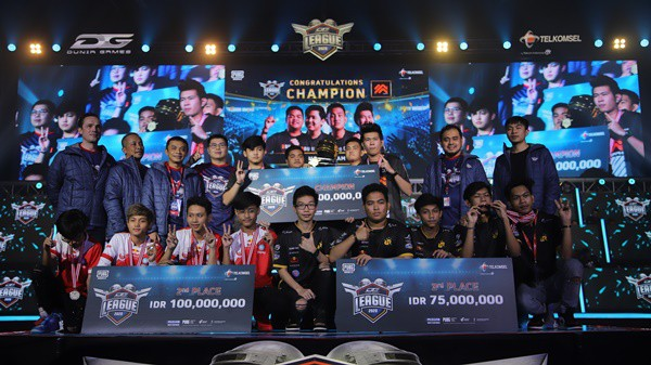Morph Team dan Belletron Ace jadi Juara Dunia Games League 2020