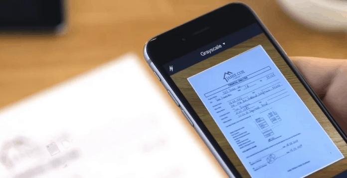 scan dokumen pakai smartphone