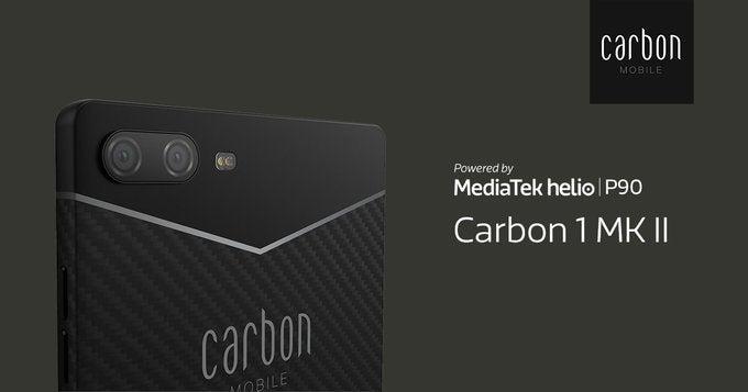 Pertama di Dunia, Smartphone Ini Terbuat dari Serat Karbon