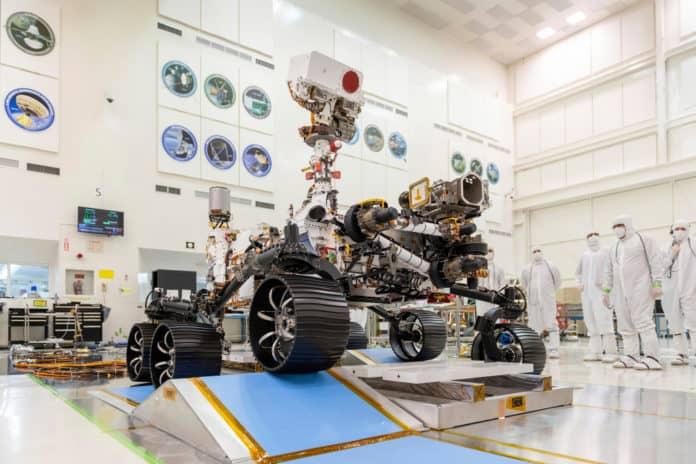 Robot NASA Mars