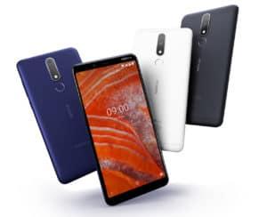 Smartphone Murah dengan NFC Nokia 3.1 Plus
