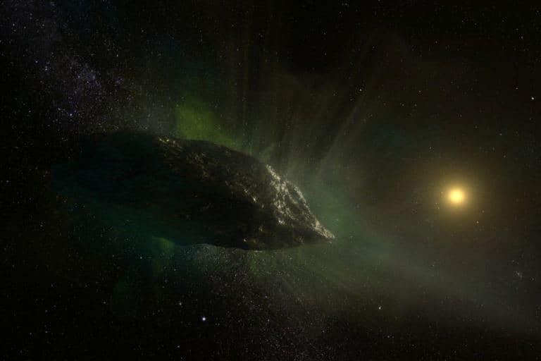 """Ilmuwan Temukan Komposisi Kimia Aneh di """"Komet Alien"""""""