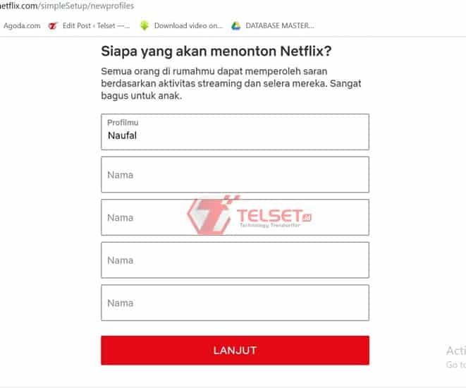 langganan Netflix dengan Jenius
