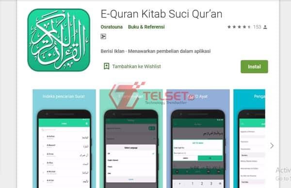 E-Quran Kitab Suci Qur'an