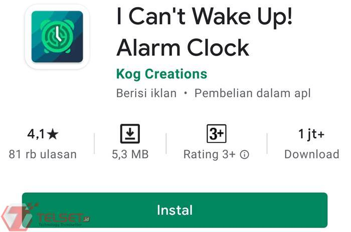 aplikasi alarm