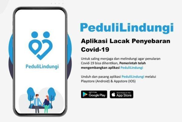 Aplikasi PeduliLindungi Aman
