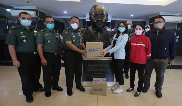Giliran Blibli Donasi APD untuk Petugas Medis Covid-19