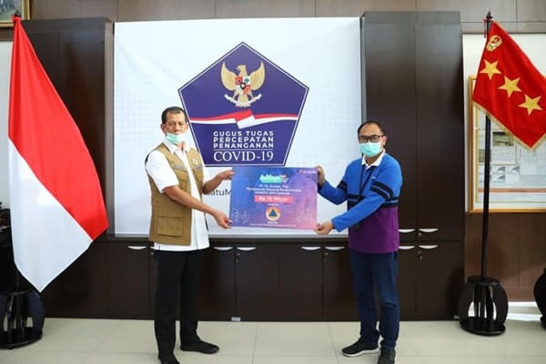 XL Axiata Serahkan Donasi Rp 10,8 M untuk Penanganan Covid-19