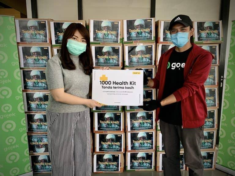 Realme Bagikan Bantuan Health Kit untuk 1.000 Driver Gojek