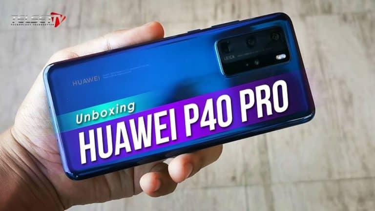 HUAWEI P40 PRO UNBOXING: HP 'Kamera Super' Masuk Indonesia!