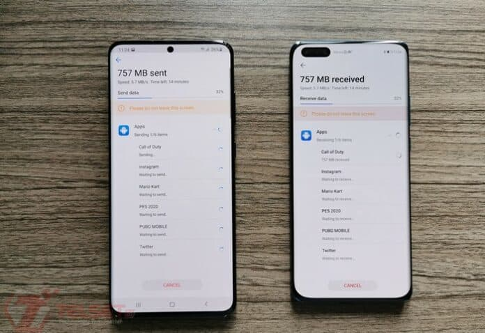 Install Aplikasi Huawei P40 Pro