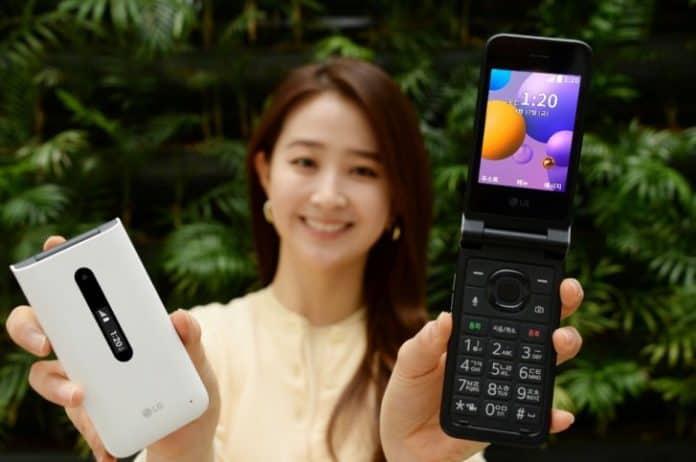 Ponsel lipat LG Folder 2