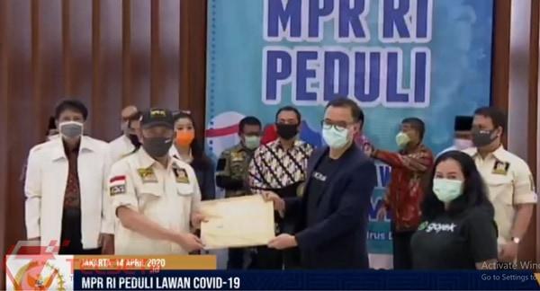 Telkomsel Dukung MPR Lawan Covid-19 Lewat Donasi Pulsa