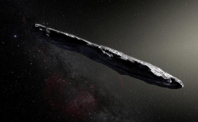 Objek Diduga Alien, Ternyata Sisa dari Planet Lain