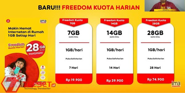 Paket Freedom Kuota Harian