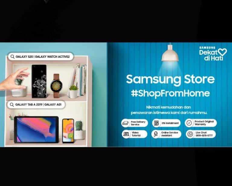 """Program """"Samsung Dekat di Hati"""", Beli Smartphone Tanpa Keluar Rumah"""