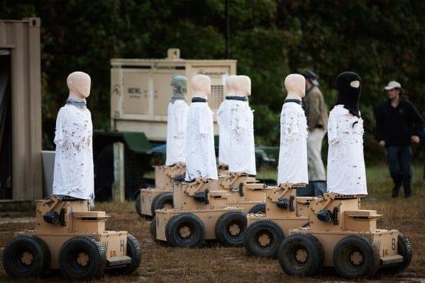 Amerika Kembangkan Robot Militer untuk Lawan Covid-19