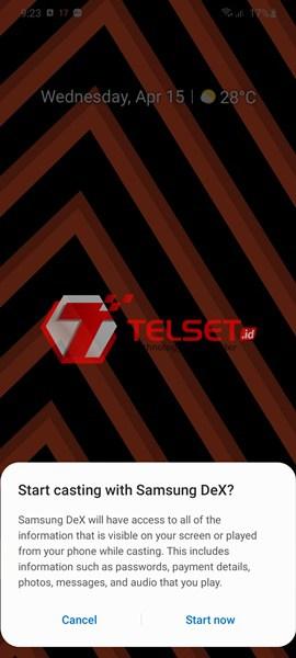 Samsung DeX Galaxy S20 Ultra