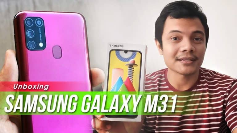 Samsung Galaxy M31 Unboxing: Rp 3 Jutaan Punya Kamera 64MP!