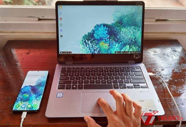 Samsung DeX di Galaxy S20 Ultra untuk #KerjaDirumah, Ini Caranya!