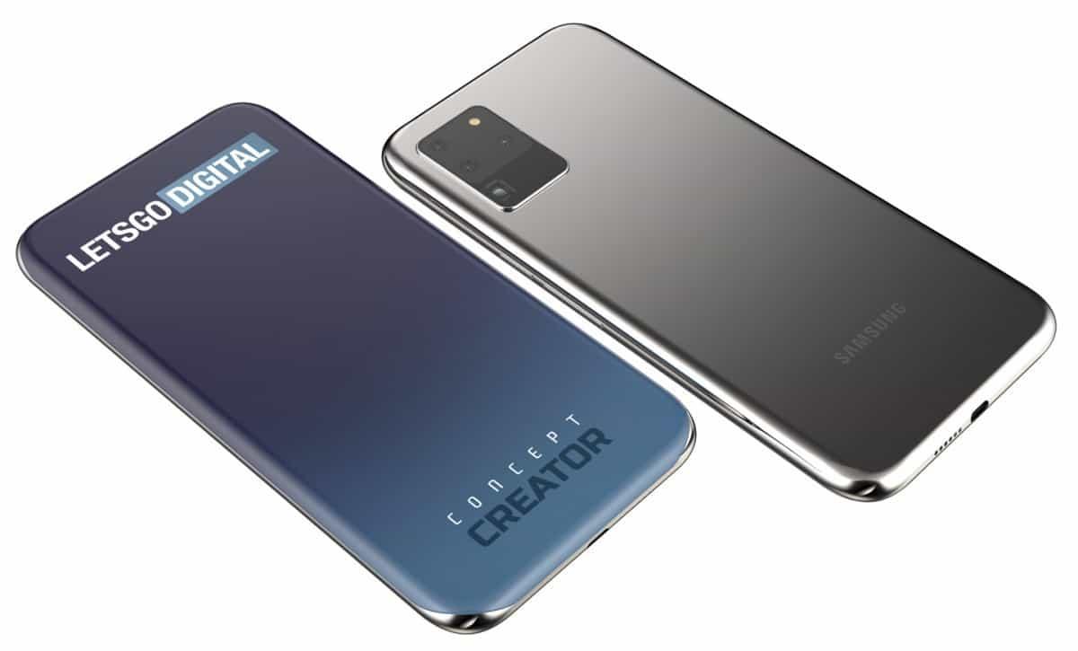 Samsung Quad Curved Screen