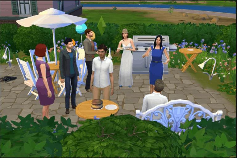 Unik! Wanita Ini Rayakan Ulang Tahun Pasangannya di The Sims