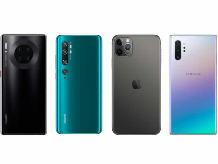 Smartphone kamera terbaik 2020 DXOmark