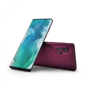 Smartphone flagship Snapdragon 865 - Motorola Edge+