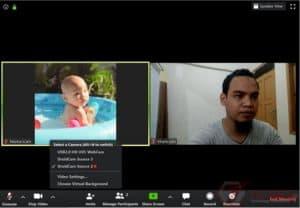Ubah Kamera ponsel jadi Webcam (1)