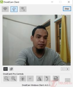 DroidCame Kamera Ponsel jadi Webcam