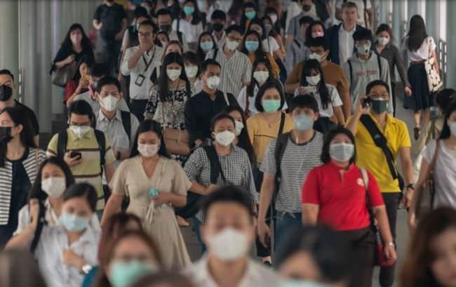 Virus Corona Betah Berlama-lama di Udara dan Keramaian